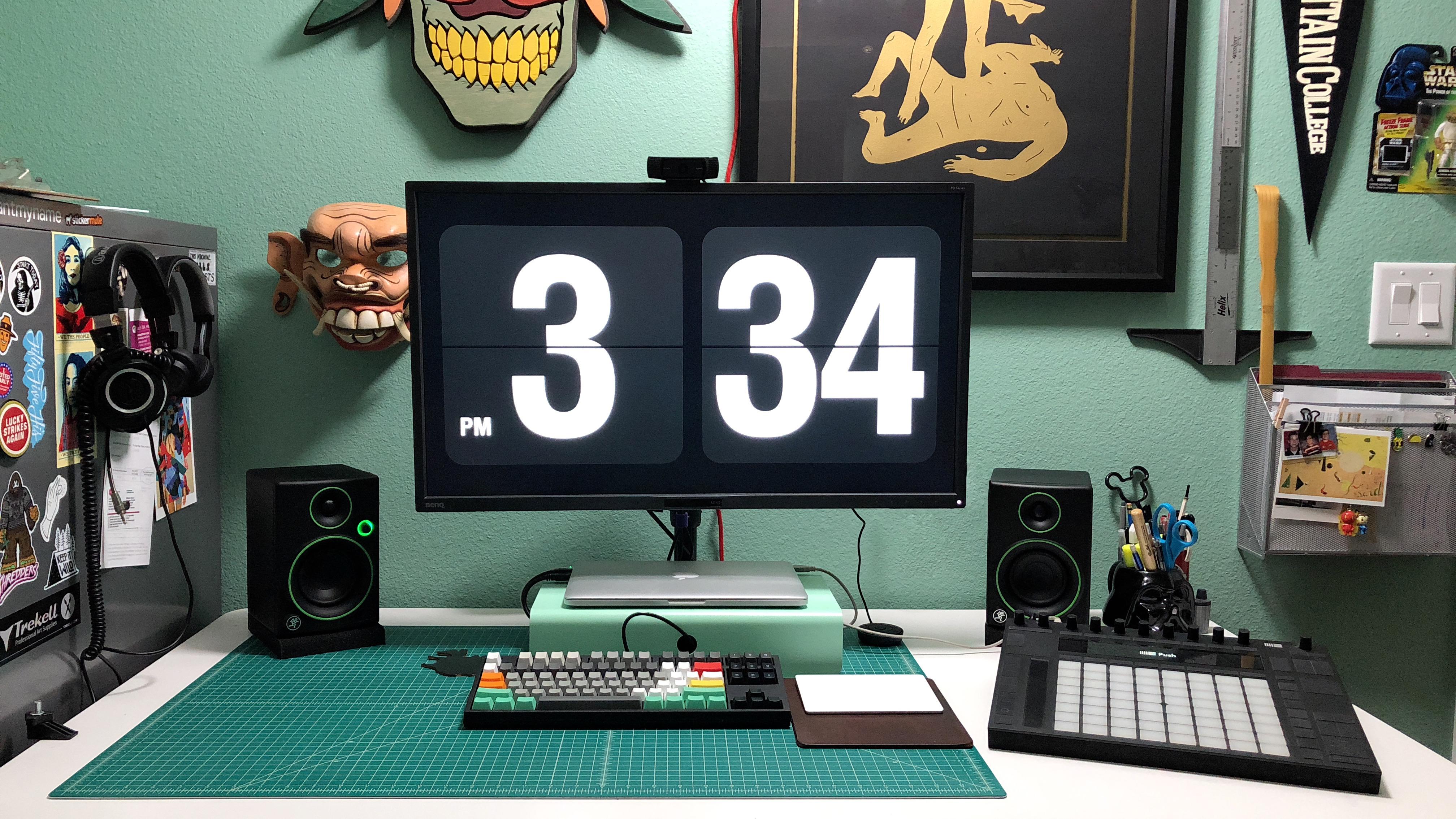 Kevin's desk